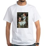 Ophelia-Aussie Terrier White T-Shirt