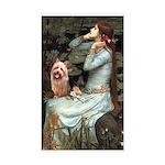Ophelia-Aussie Terrier Sticker (Rectangle)