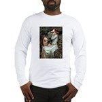 Ophelia-Aussie Terrier Long Sleeve T-Shirt