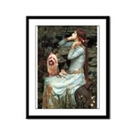 Ophelia-Aussie Terrier Framed Panel Print