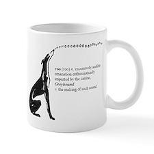 Greyhound Mug/Roo