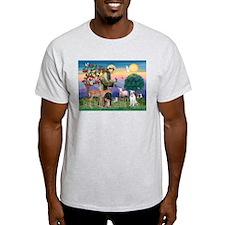 St Francis / Pitbull T-Shirt