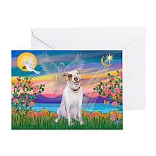 Guardian / Pit Bull Terrier Greeting Card
