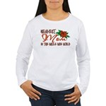 Meanest Mom In The Whole Wide World Women's Long S
