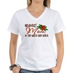 Meanest Mom In The Whole Wide World Women's V-Neck