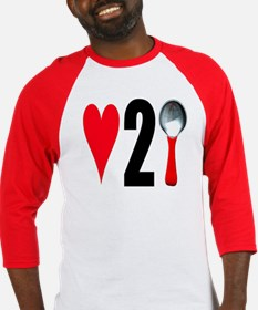 love to spoon Baseball Jersey