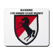 11TH ARMORED CAVALRY REGIMENT Mousepad
