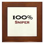100 Percent Sniper Framed Tile