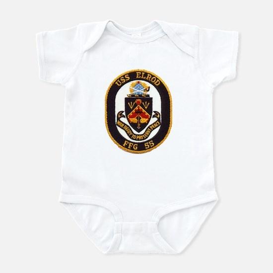 USS ELROD Infant Bodysuit