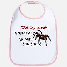 Spider Squishers Bib