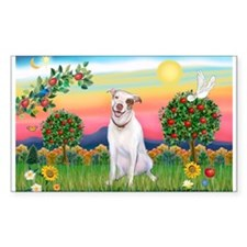Bright Country / Pit Bull Rectangle Decal