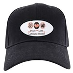 Peace Love Lakeland Terrier Black Cap