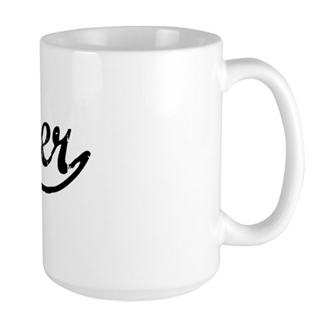 Vintage Buster (Black) Large Mug