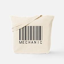 Mechanic Barcode Tote Bag
