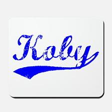 Vintage Koby (Blue) Mousepad
