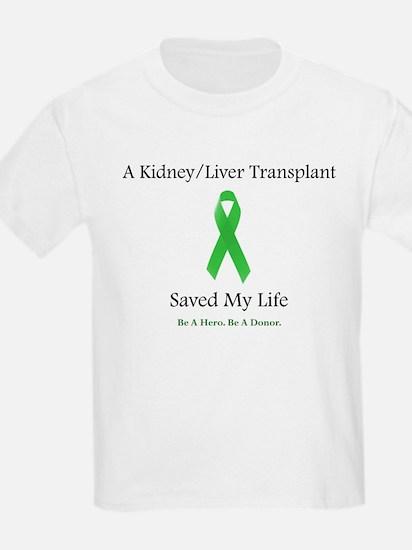 Kidney/Liver Transplant T-Shirt