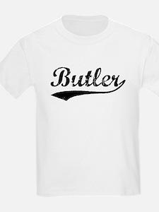 Vintage Butler (Black) T-Shirt
