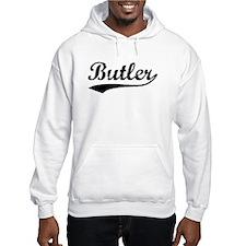 Vintage Butler (Black) Hoodie