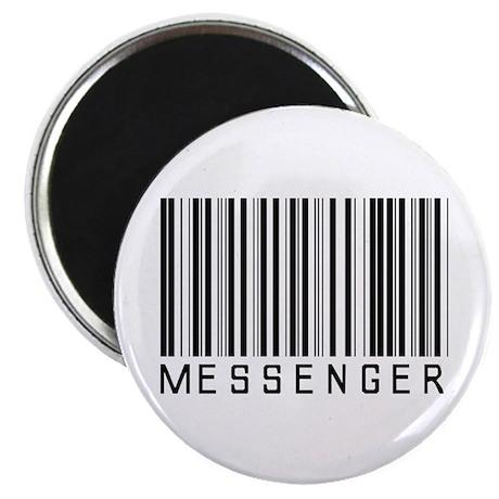 "Messenger Barcode 2.25"" Magnet (10 pack)"