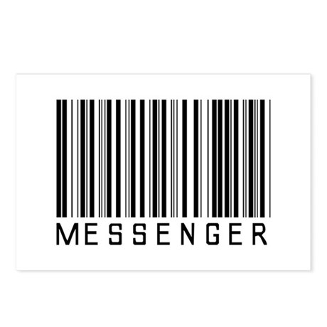 Messenger Barcode Postcards (Package of 8)