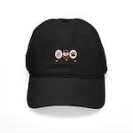 Peace Love Manchester Terrier Black Cap