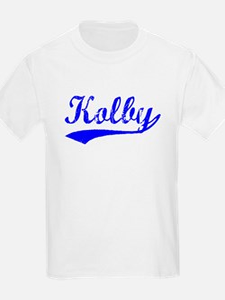 Vintage Kolby (Blue) T-Shirt
