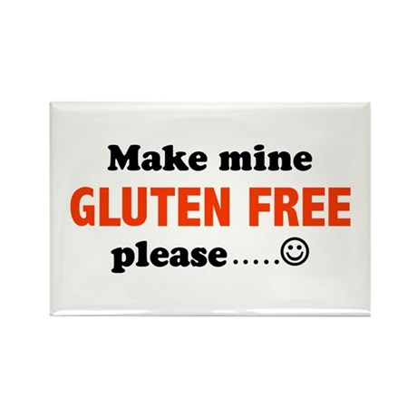 gluten free Rectangle Magnet (10 pack)