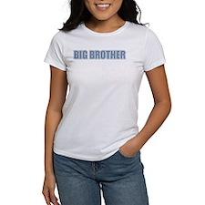 Big Brother Blue Varsity Letters Tee
