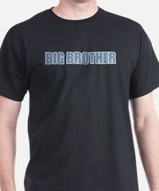 Big Brother Blue Varsity Letters T-Shirt