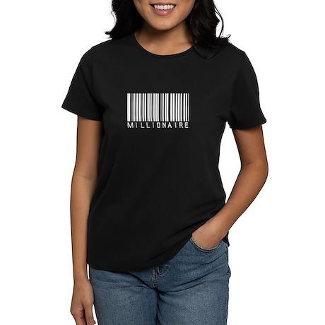 Millionaire Barcode Women's Dark T-Shirt