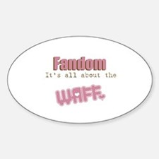 It's all about the WAFF Oval Decal