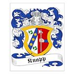 Knapp Family Crest Small Poster