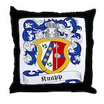 Knapp Family Crest Throw Pillow