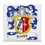 Knapp Family Crest Tile Coaster