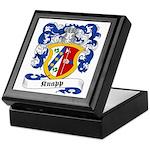 Knapp Family Crest Keepsake Box