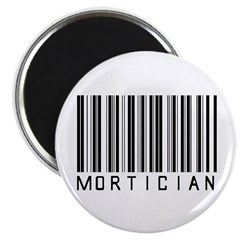 Mortician Barcode Magnet