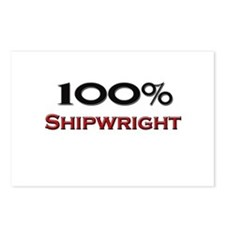 100 Percent Shipwright Postcards (Package of 8)