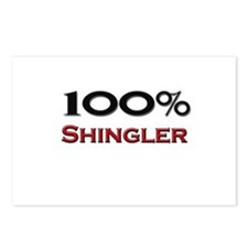 100 Percent Shingler Postcards (Package of 8)