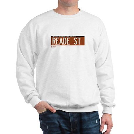 Reade Street in NY Sweatshirt