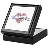Clown Square Keepsake Boxes