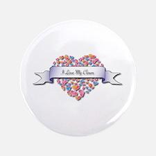 "Love My Clown 3.5"" Button (100 pack)"