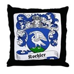 Koehler Family Crest Throw Pillow
