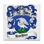 Koehler Family Crest Tile Coaster