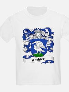 Koehler Family Crest Kids T-Shirt