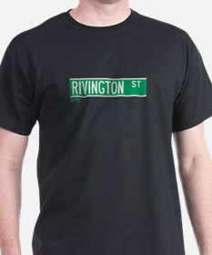 Rivington Street in NY T-Shirt