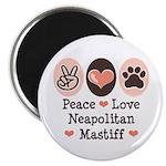 Peace Love Neapolitan Mastiff 2.25