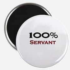"100 Percent Servant 2.25"" Magnet (10 pack)"