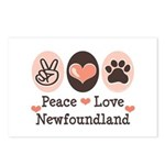 Peace Love Newfoundland Postcards (Package of 8)