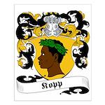 Kopp Family Crest Small Poster