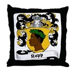 Kopp Family Crest Throw Pillow